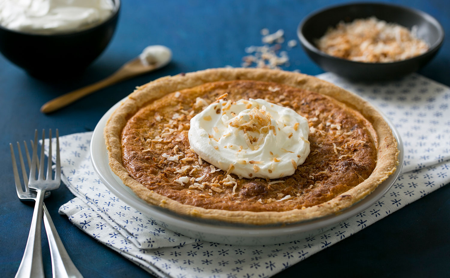 Bean and Coconut Pie