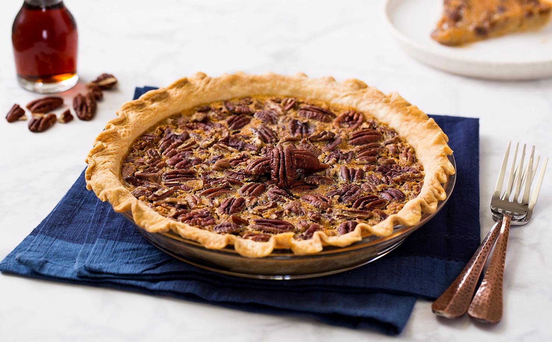 Bean & Maple Syrup Pie