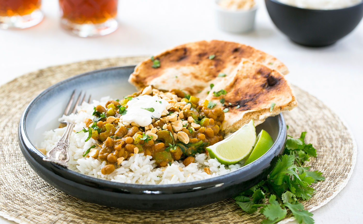 Curried Beans & Vegetables