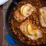 Baked Beans with Chops