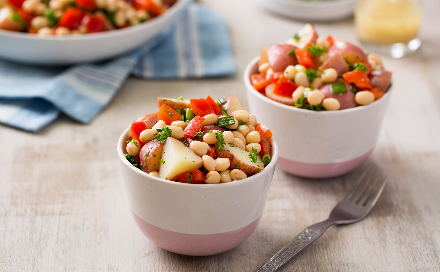 Bean and Red Potato Salad