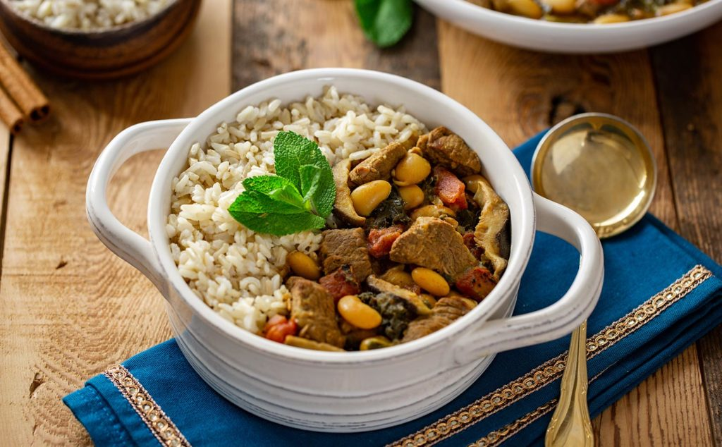 Pressure Cooker Persian Lamb Stew