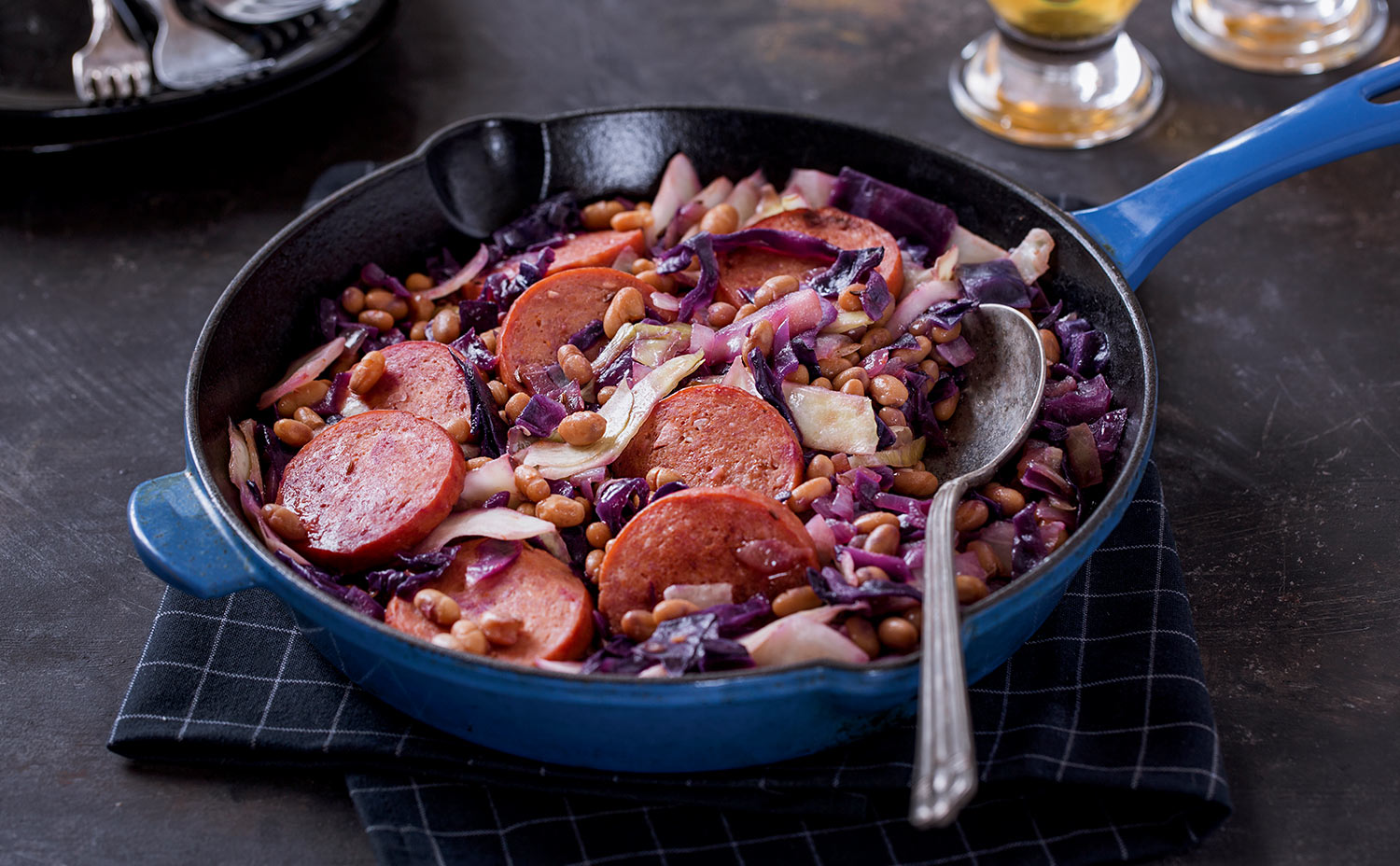 Snappy Sausage and Cabbage