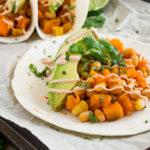 Bean and Sweet Potato Tacos