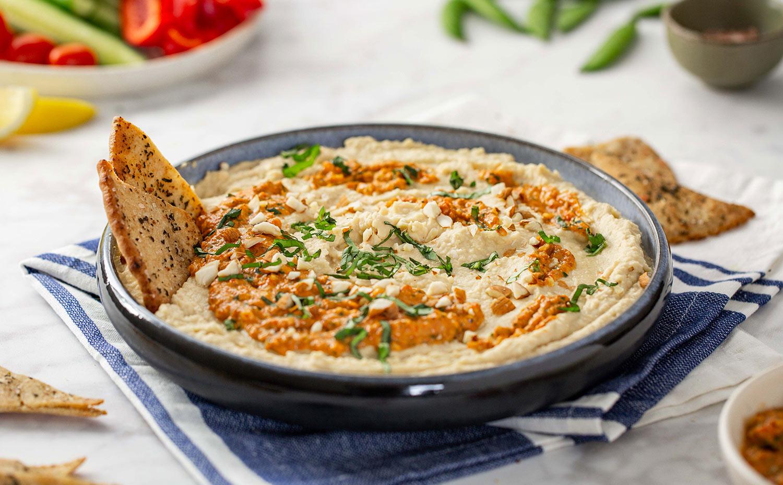 White Bean Chickpea Hummus