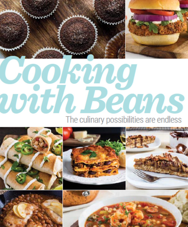 Cooking with Beans Recipe Book