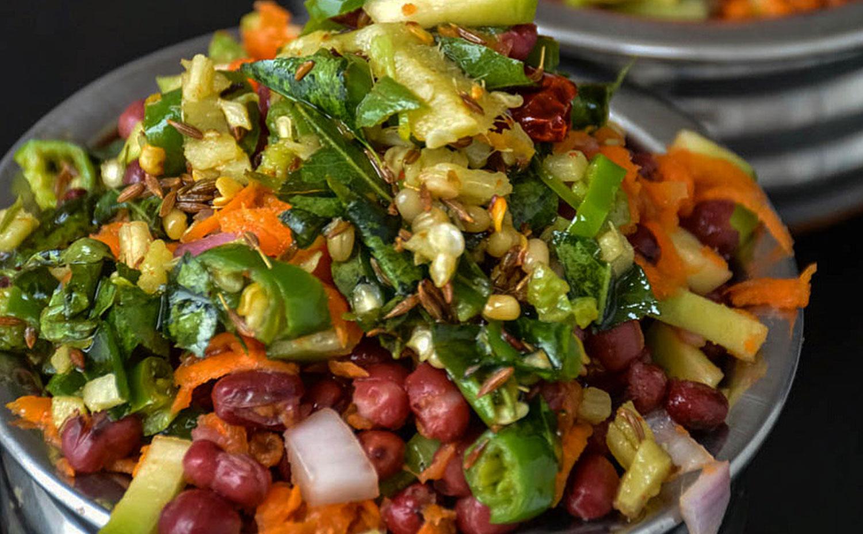 Indian Style Bean Salad