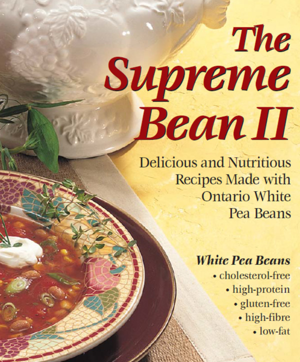 The Supreme Bean 2 Recipe Book