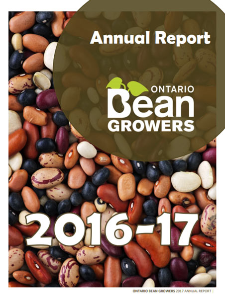2016-17 Ontario Bean Growers Annual Report