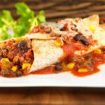 Beef Chili Enchiladas